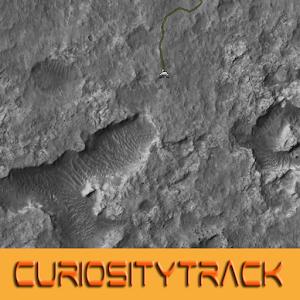 Curiosity Rover track map APK