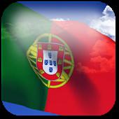 3D Portugal Flag LWP +