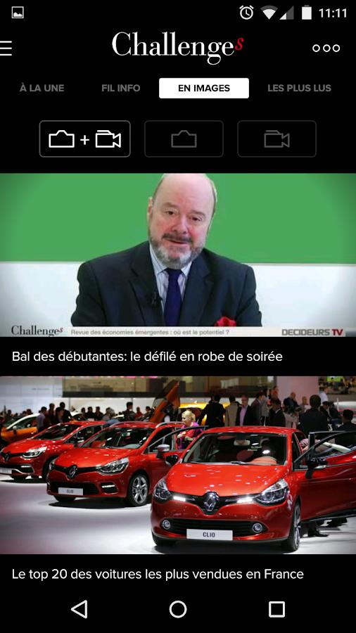 Challenges actu de l'économie- screenshot