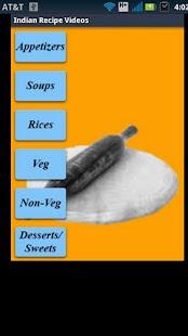 Indian Recipes Videos- screenshot thumbnail