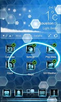 Screenshot of Next Sea Ice Live Wallpaper