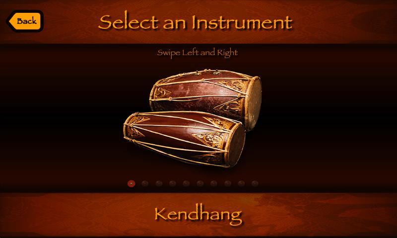 Virtual Javanese Gamelan- screenshot