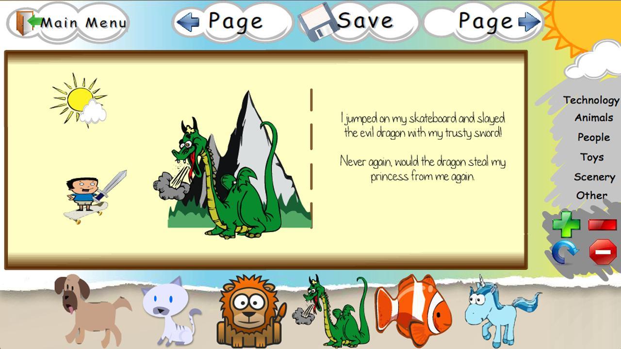 My Story Builder- screenshot
