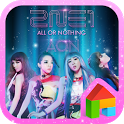 2NE1 AON LINE Launcher theme icon