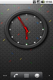 RIM 4x3 Analog Clock- screenshot thumbnail