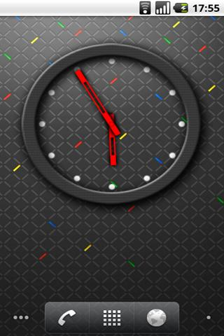 RIM 4x3 Analog Clock- screenshot