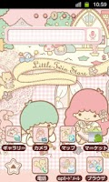 Screenshot of SANRIO CHARACTERS Theme18