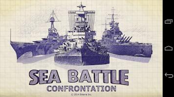 Screenshot of Sea Battle. Confrontation