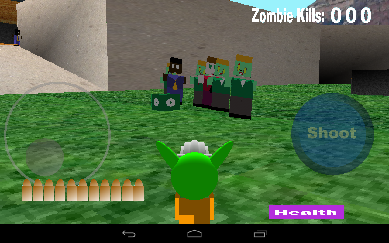 Alien Zombie Soul Hunter- screenshot