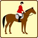 horse riding game icon