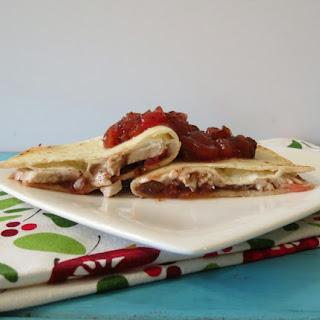 Turkey Cranberry Fiesta Quesadilla