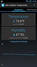 Holo Ambient Temperature Screenshot 1