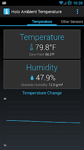 Holo Ambient Temperature - screenshot thumbnail