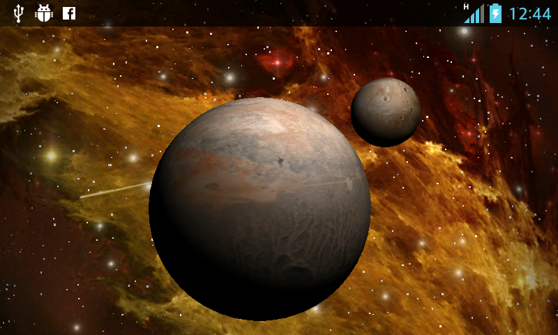 3D Space  Live Wallpaper Free - screenshot
