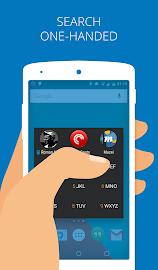 App Dialer app/contact search Screenshot 3