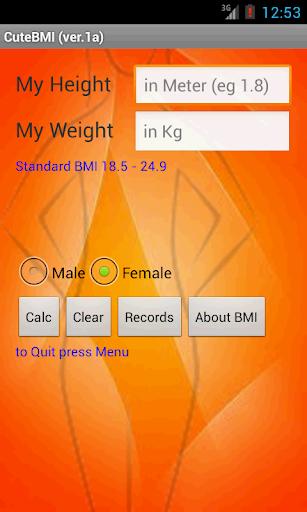Cute BMI ver. 1a