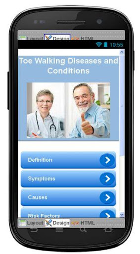 Toe Walking Disease Symptoms
