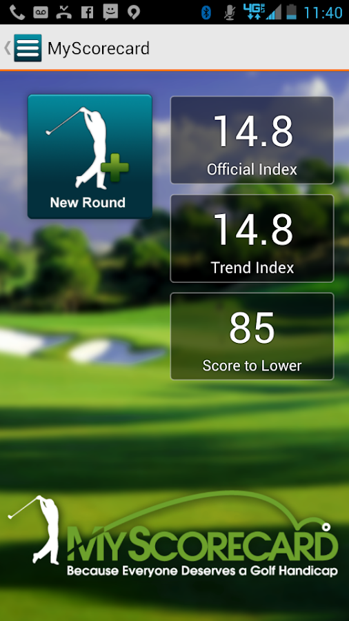 MyScorecard Golf Score Tracker- screenshot