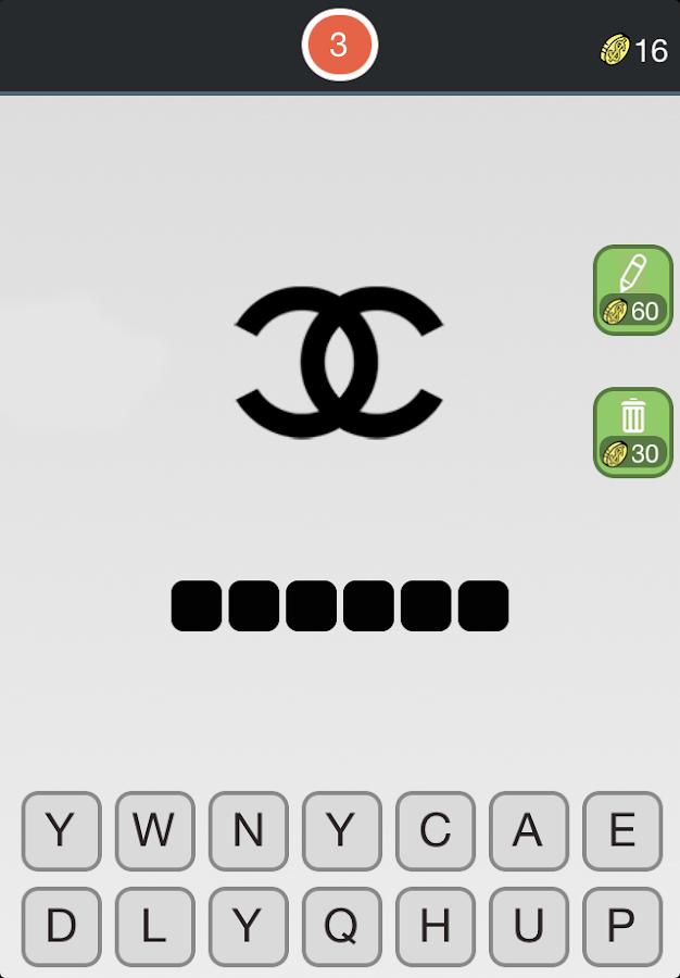 Logos Quiz - Fashion Free fun- screenshot