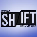 Shift Clock - UCCW Skin v1.0.1