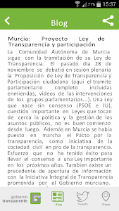 Gobierno Transparente screenshot 4