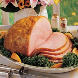 Mustard-Glazed Ham.
