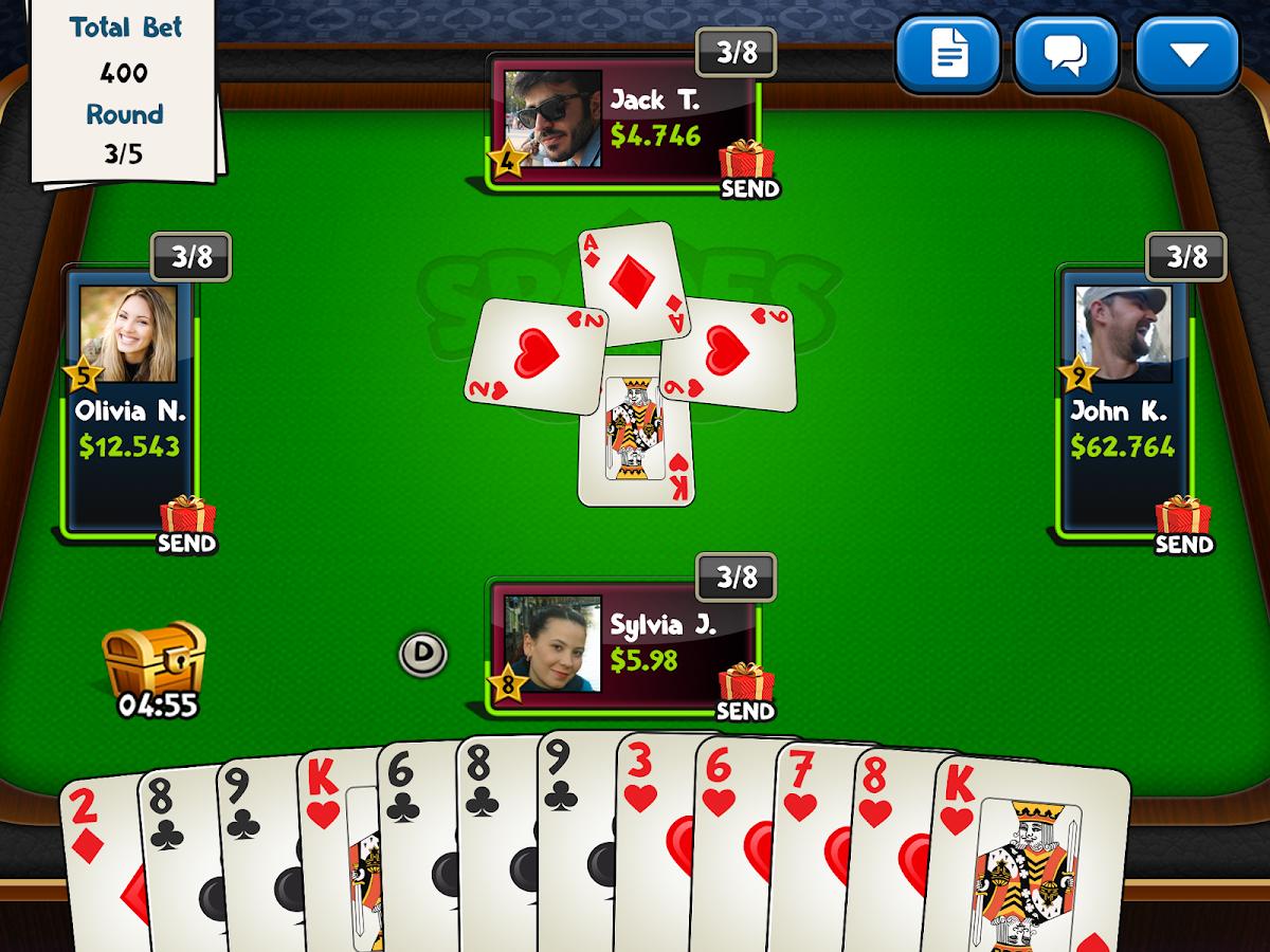 Spades Play Online