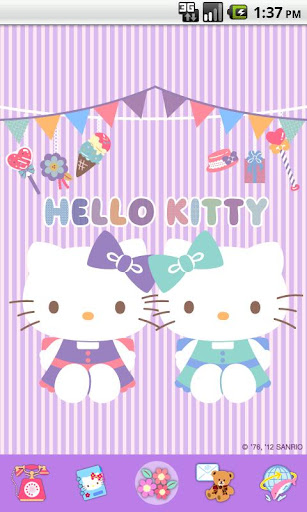 Hello Kitty LoveParty Theme