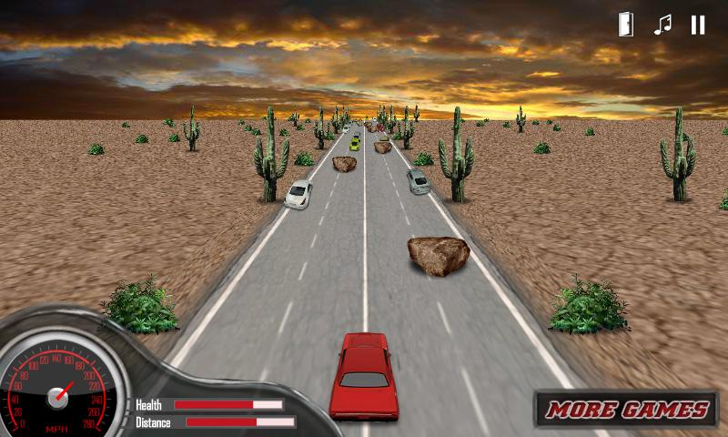 3D Muscle Car Racing Game - screenshot
