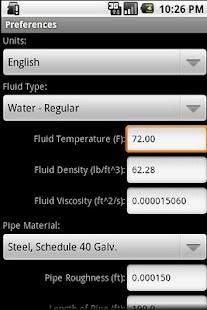 HVAC Pipe Sizer - Liquid- screenshot thumbnail