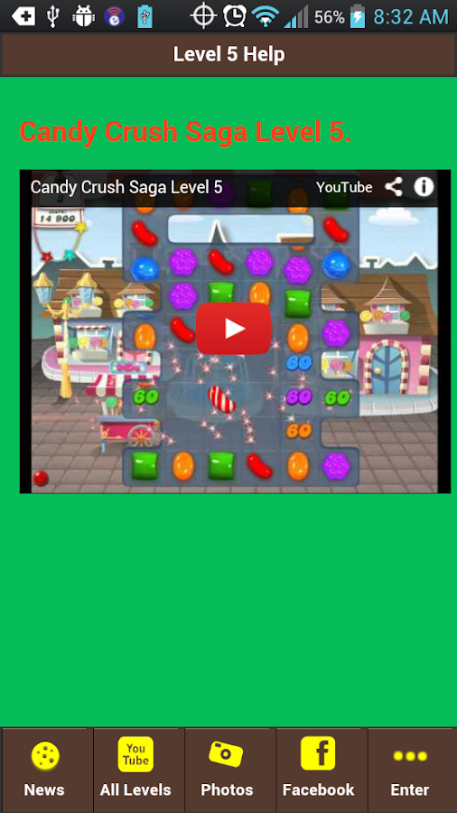 candy crush level 65 yet no well your in luck because the candy crush