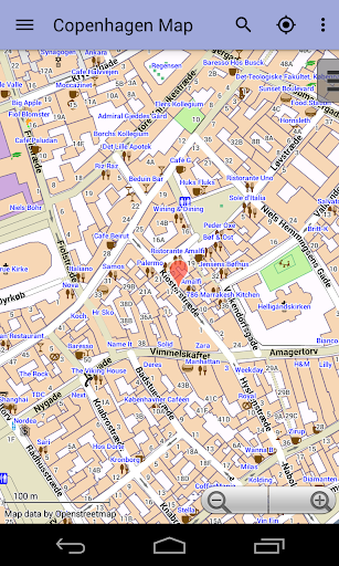 【免費旅遊App】Copenhagen City Map Lite-APP點子