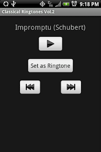 CLASSICAL Vol.2 Ringtones - screenshot thumbnail