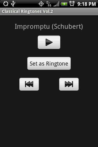 CLASSICAL Vol.2 Ringtones - screenshot