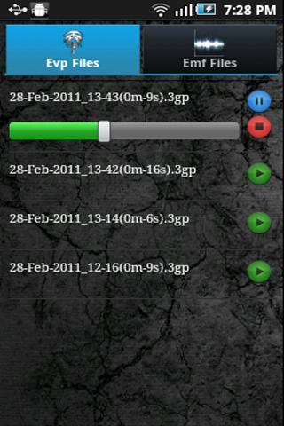 EMF EVP Entity Detector Trial - screenshot