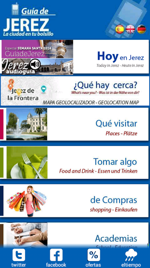GuíadeJerez Feria 2015 - screenshot