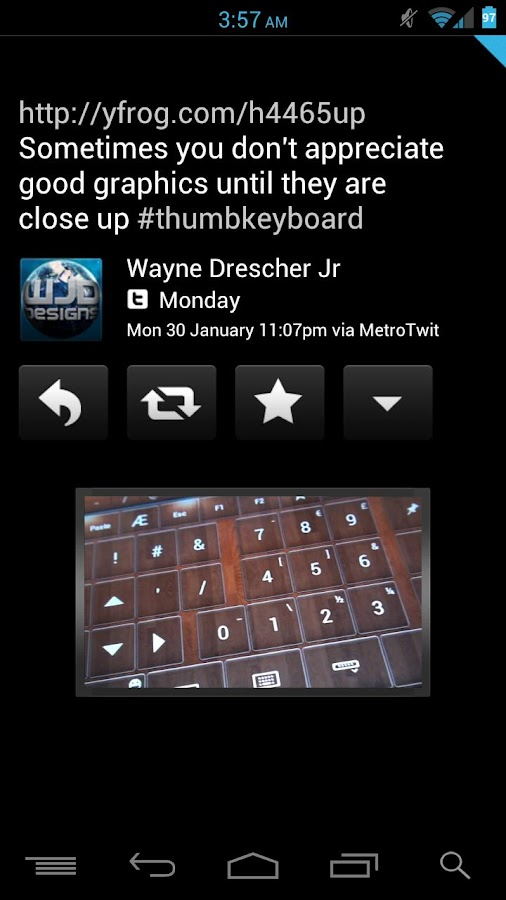 TweetDark (Free Version)- screenshot