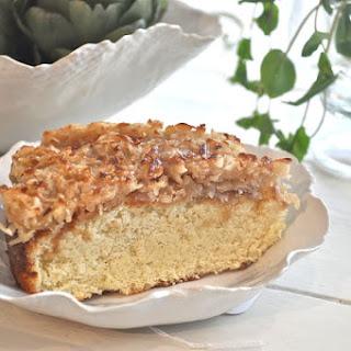 Caramelized Coconut Cake