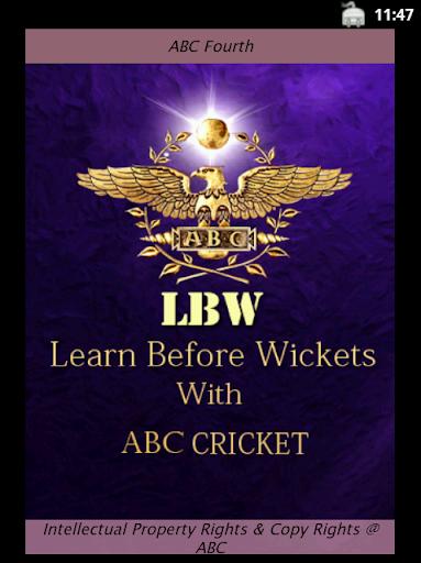 ABC Cricket Third Class