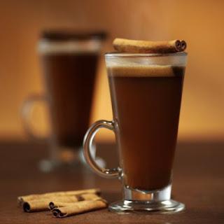 Hot Caramel Buttered Rum.