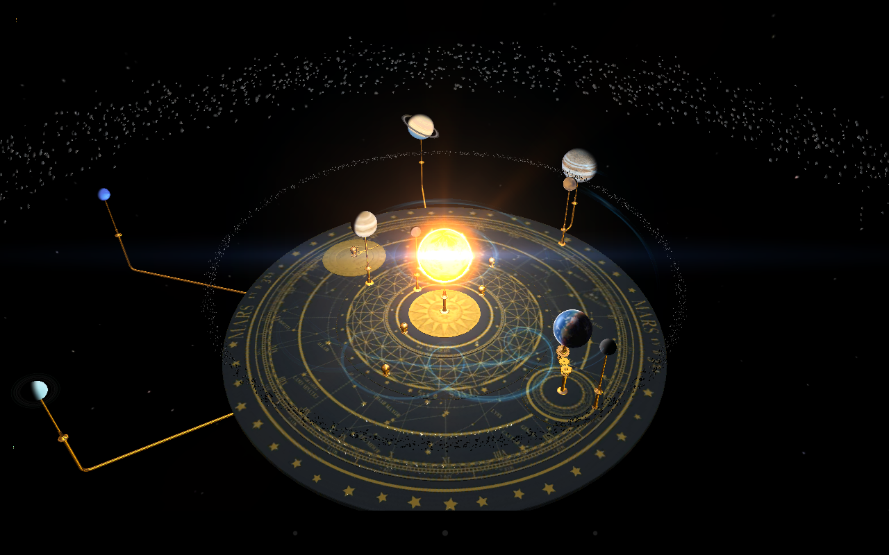 Orrery - screenshot