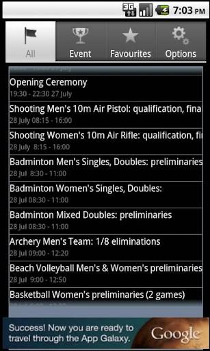 Winter Games Calendar 2014