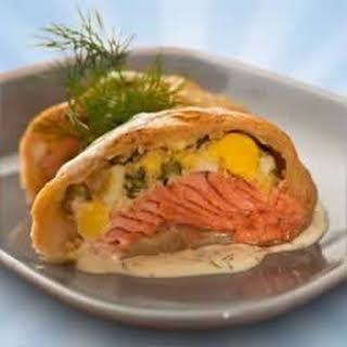 Puff Pastry Salmon Bundles.