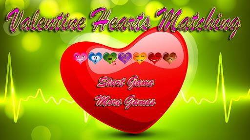 Valentine Hearts Matching