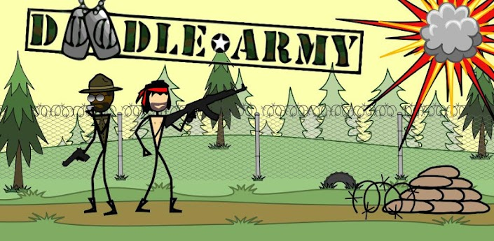 Doodle Army - стрелялка для Android