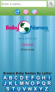 Baby Names! by BabyNames.com- screenshot thumbnail