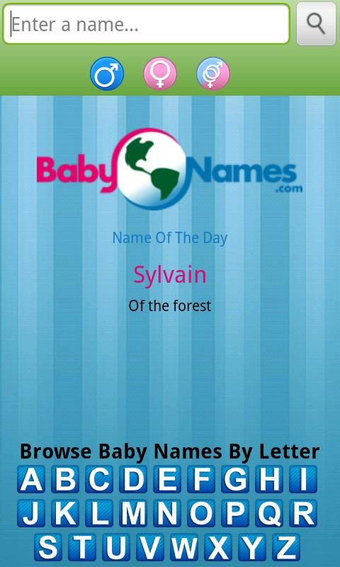 Baby Names! by BabyNames.com- screenshot