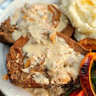 Crock Pot Roast with Sour Cream Gravy.