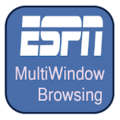 ESPN MultiWindow Browsing