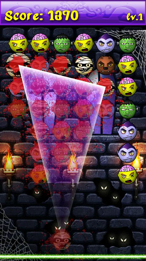 Halloween Jewels Smasher - screenshot
